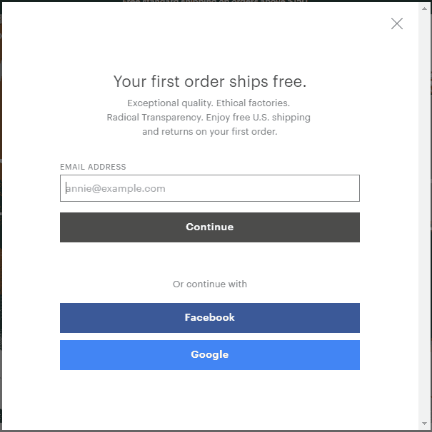 Use popups to get more customers