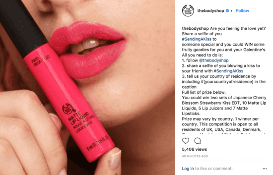 Image result for sending a kiss body shop