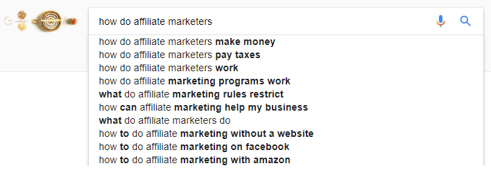 google suggests