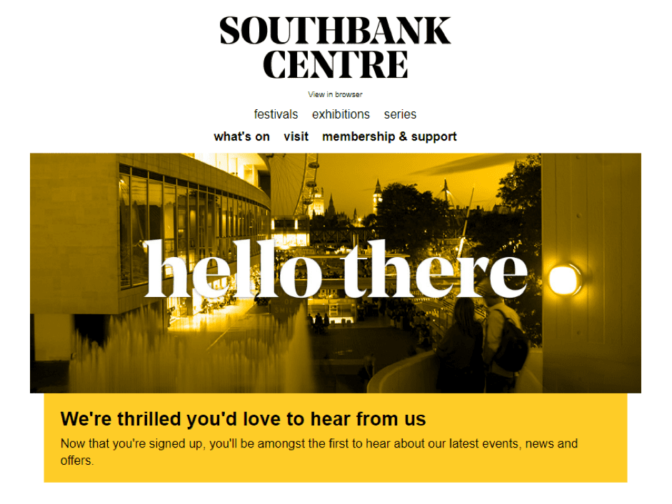 southbank subscription form