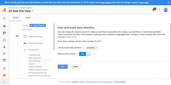 Is your Google Analytics Data GDPR ready?