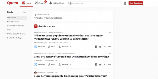 How to use Quora as part of your content marketing strategy