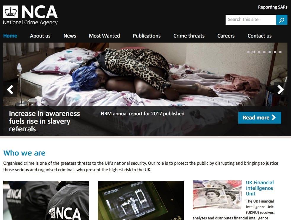 NCA website