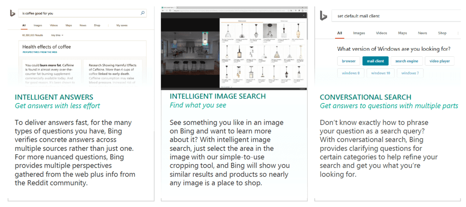 AI powered search capabilities