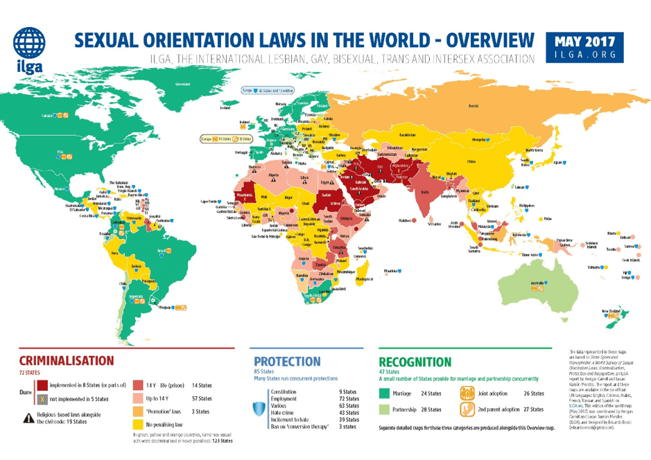 Sexual orientation laws in the world