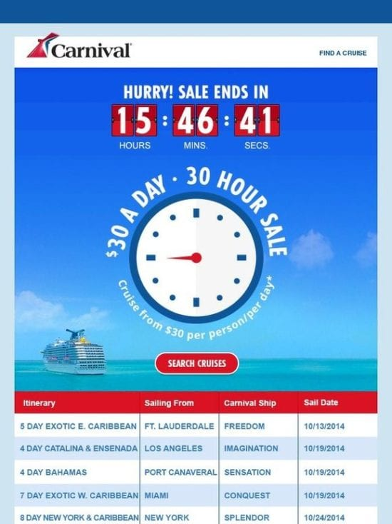 Carnival-Cruise-Email-Clock