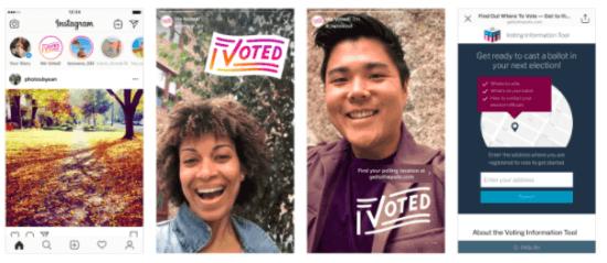 Instagram I voted