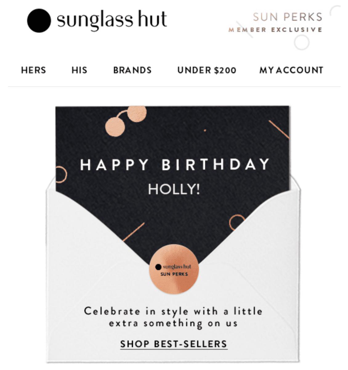 Sunglass-Hut-Email