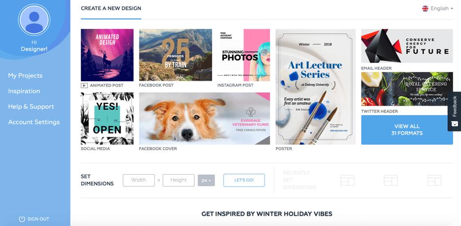 blogging image creation