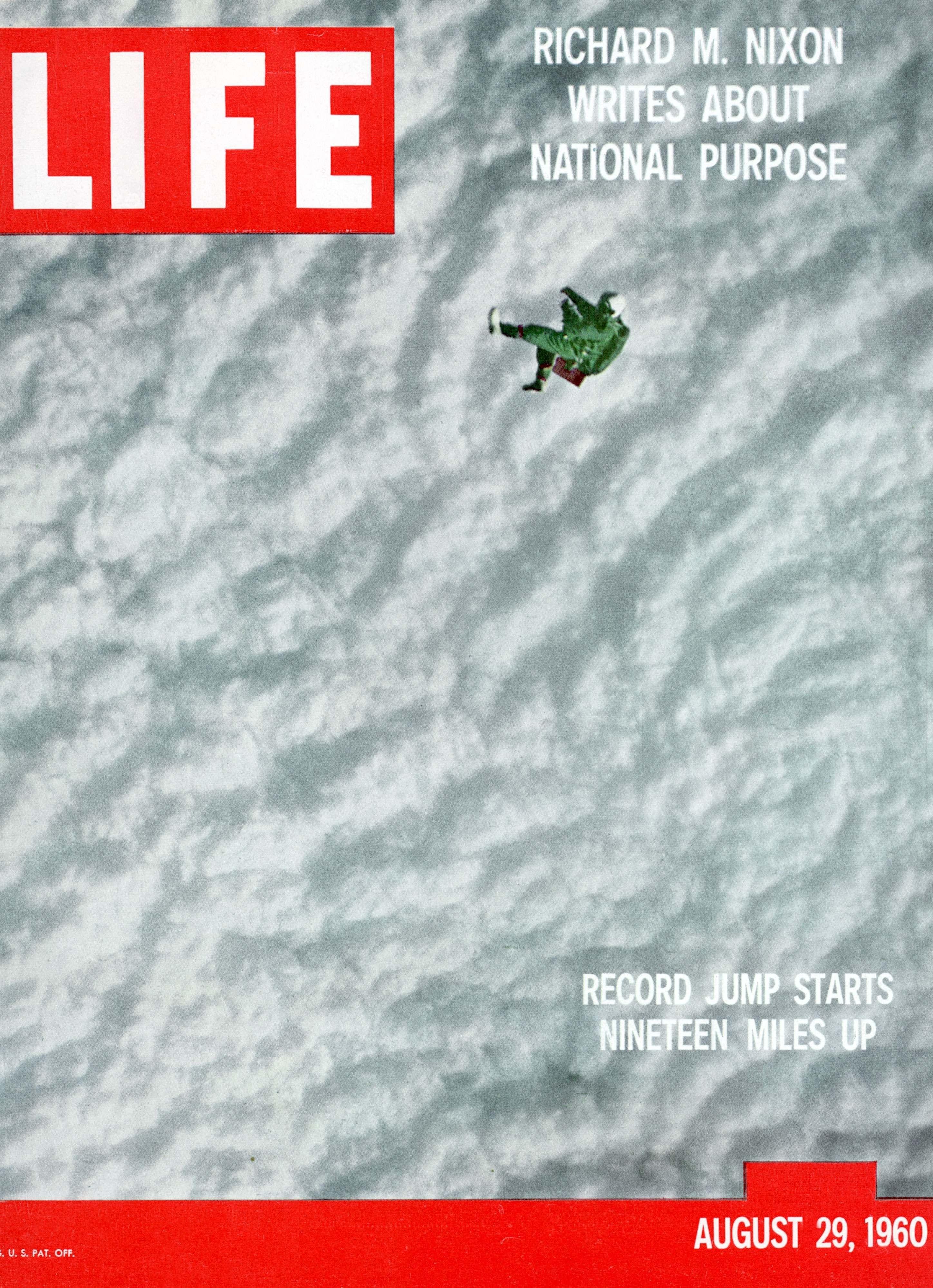 Joseph Kittinger Life magazine