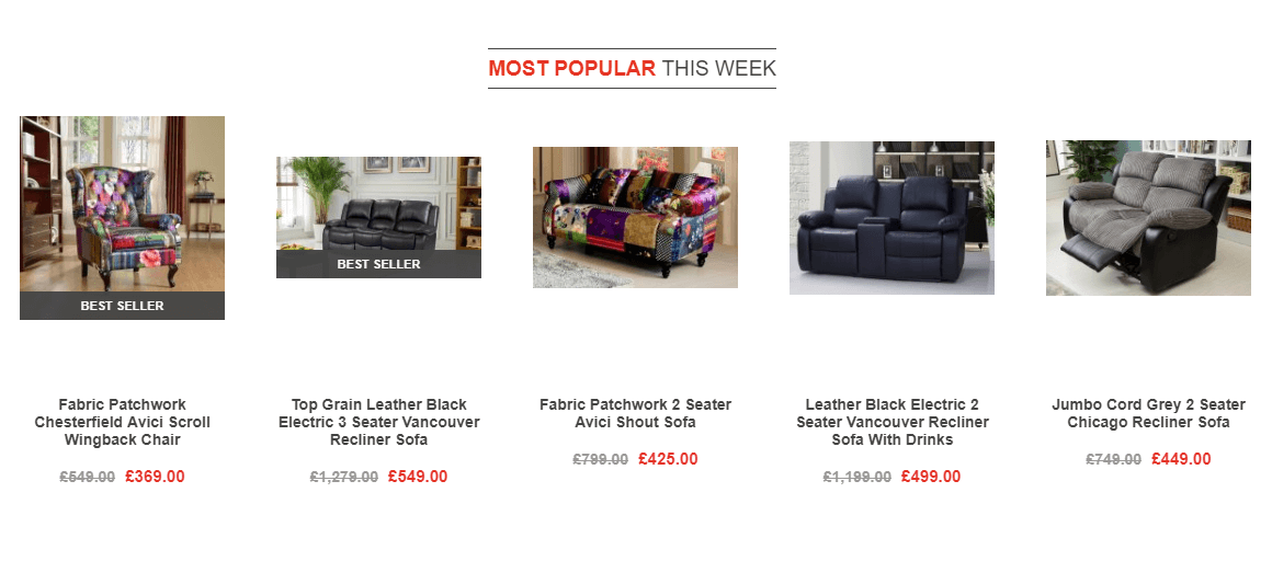 Love Sofas best seller recs