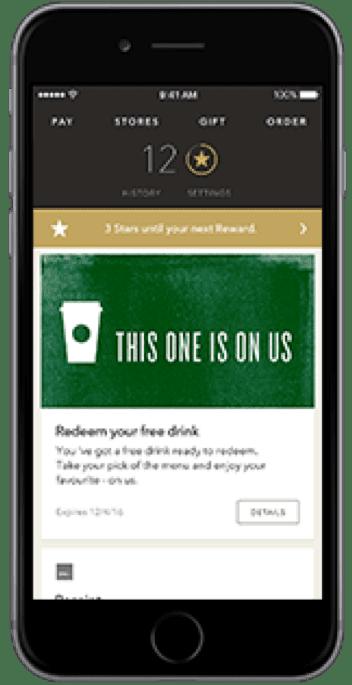 Starbucks omnichannel example