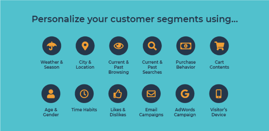 14 ways to segment for effective e-commerce personalization