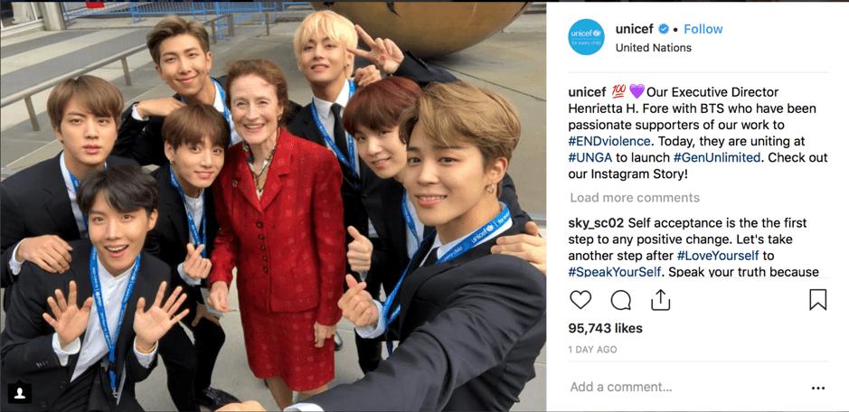UNICEF - behind the scenes