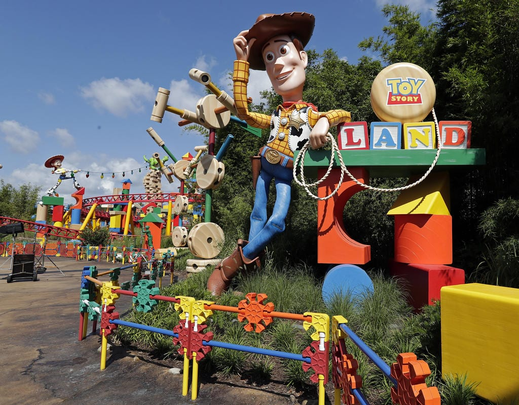 Toy Story Land Preview