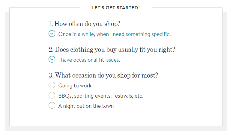 Stitch Fix Customer Questions 2
