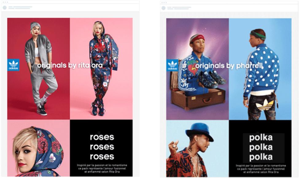 Adidas personalization