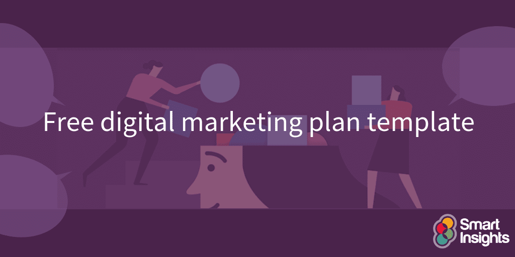 Free digital marketing plan template