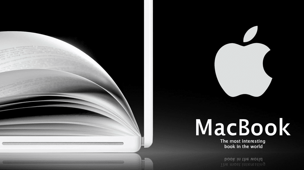MacBook advert