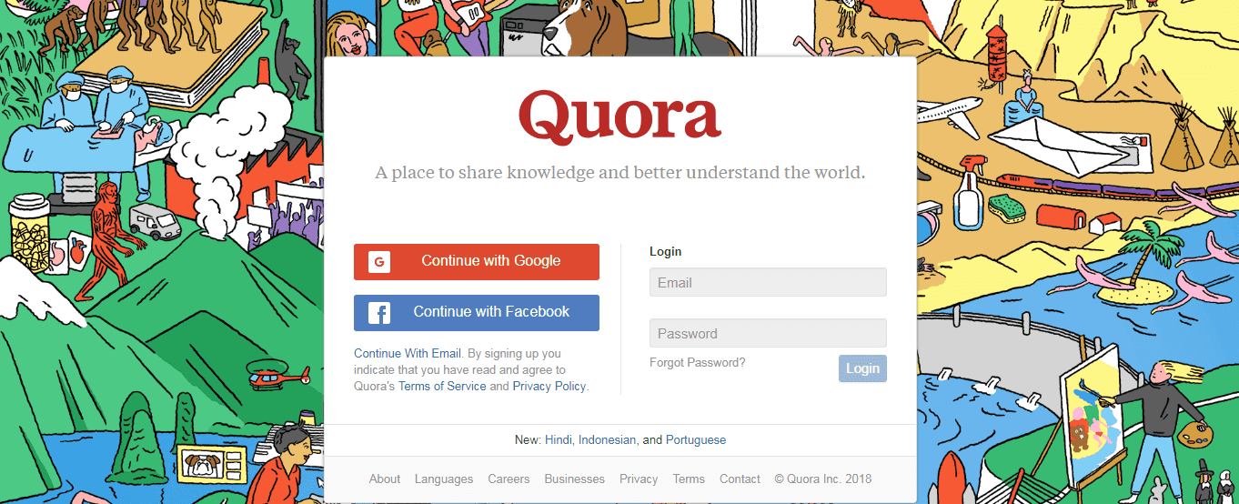 Quora A place to share knowledge and better understand the world