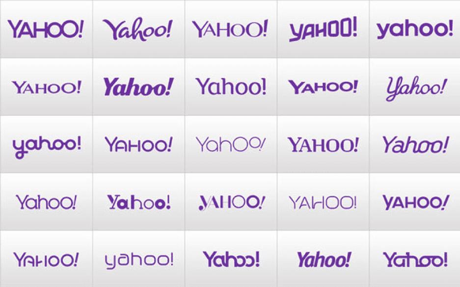 Yahoo font changes
