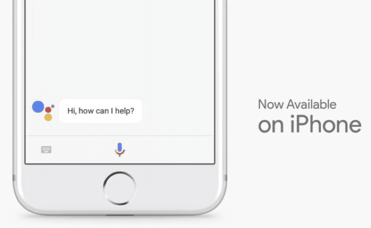 Google Assistant on iPhone