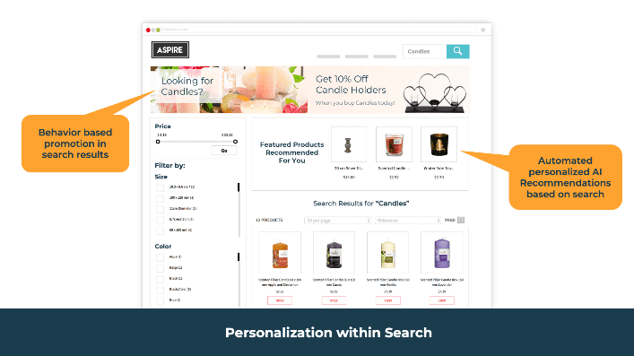 Personalization within Search