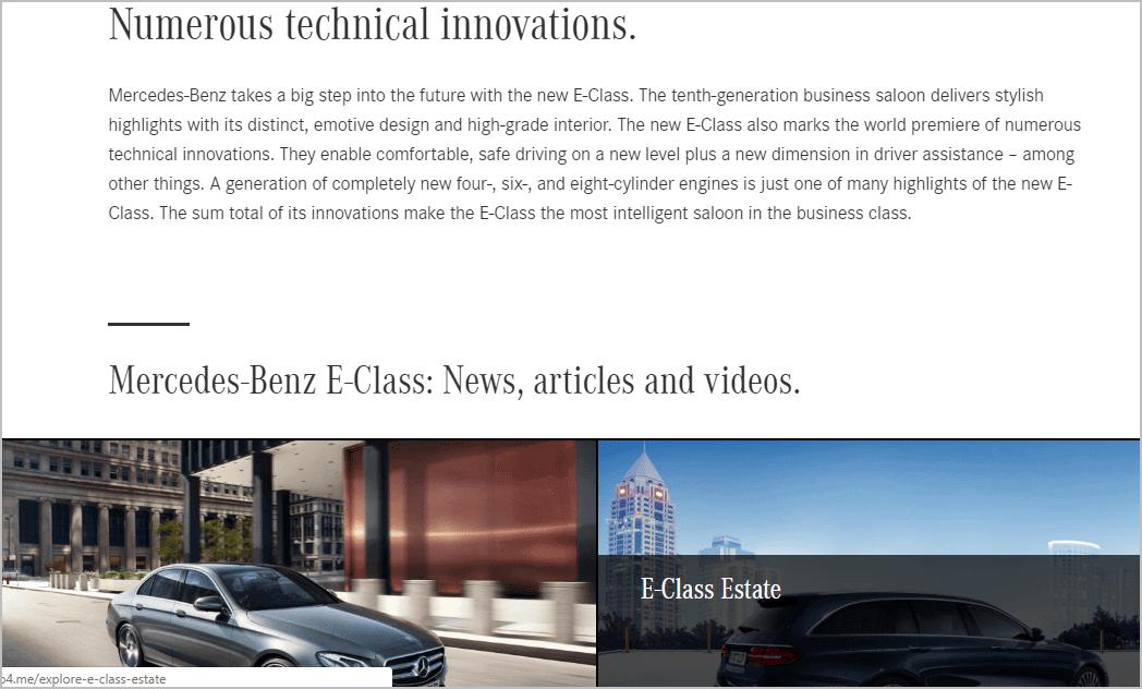 Mercedes blog
