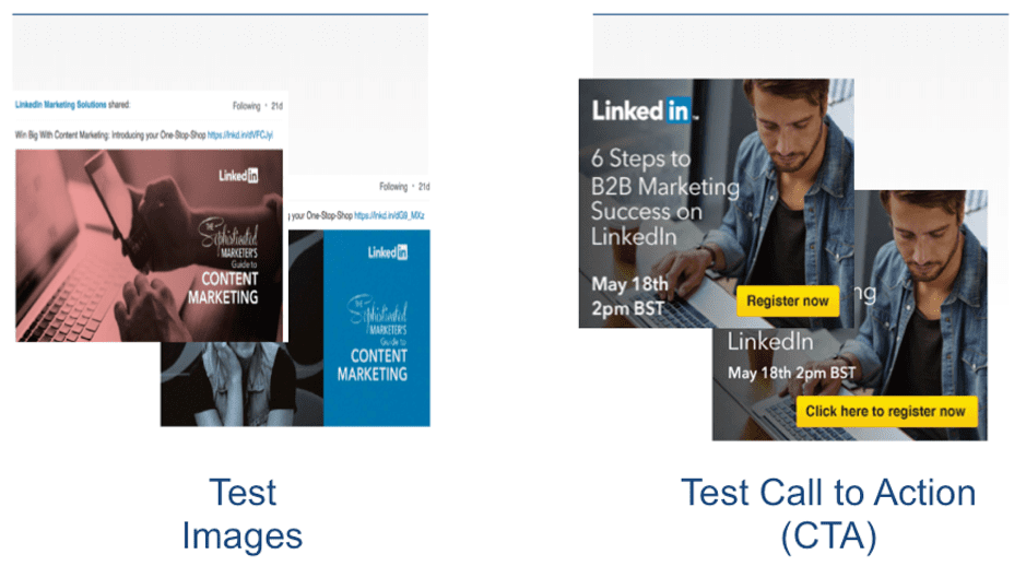 LinkedIn ad creatives