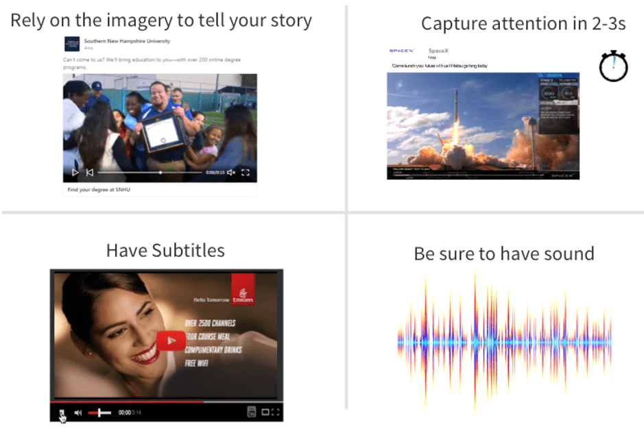 LinkedIn video examples
