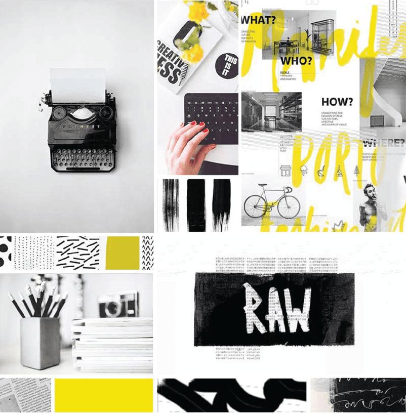 Design inspiration visuals