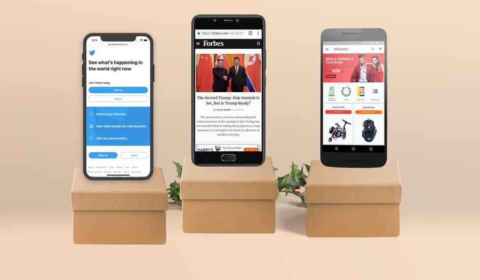 Incorporate progressive web apps into your social media marketing