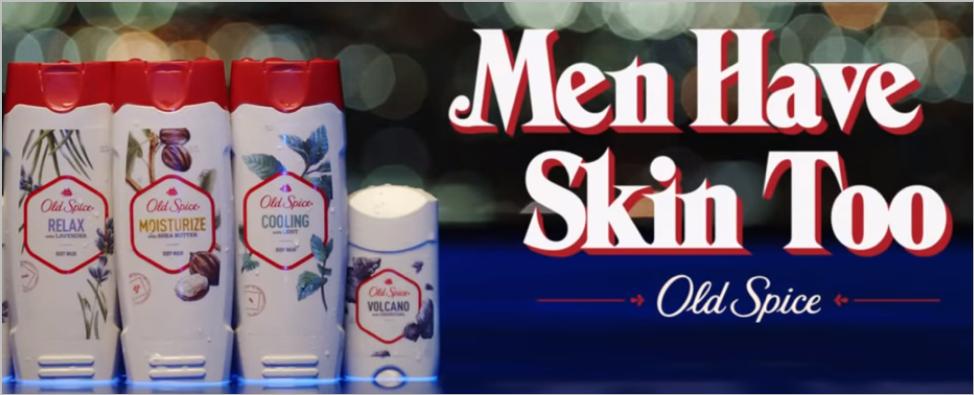 Old Spice skincare ad