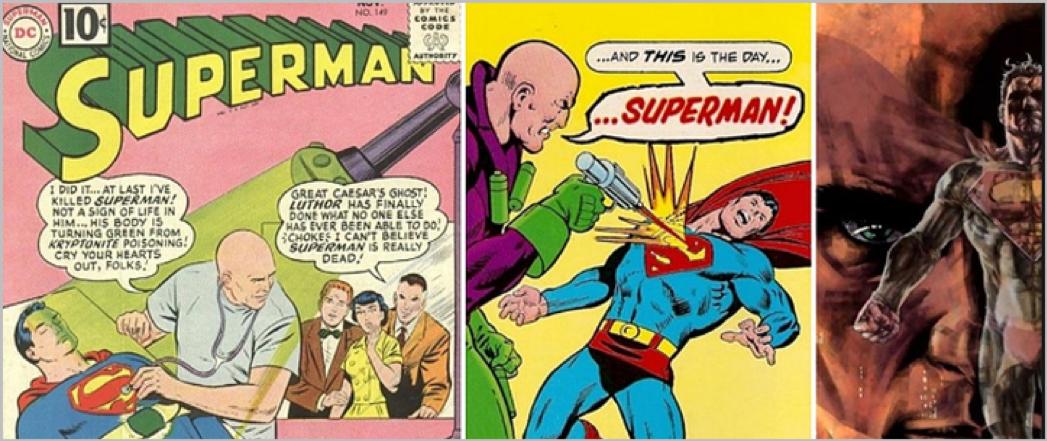Superman comics storyteling