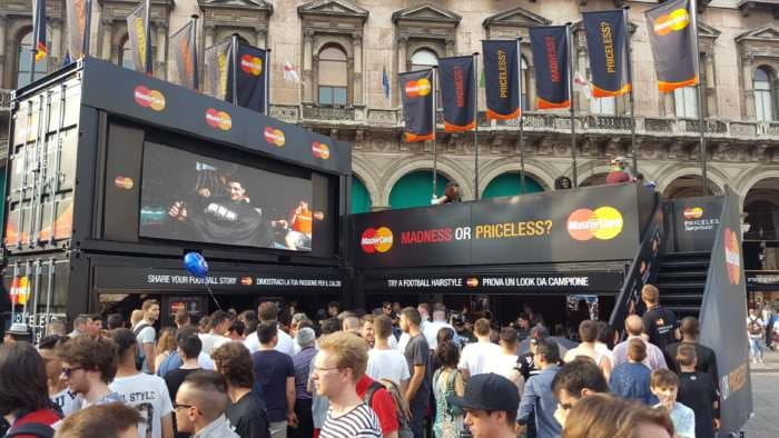 Mastercard UEFA Champions League Milan Promotions
