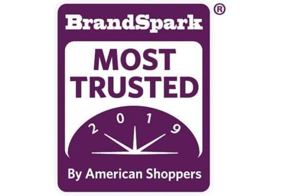 BrandSpark Most Trusted Awards logo