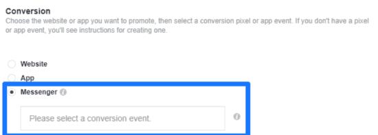 Conversion event