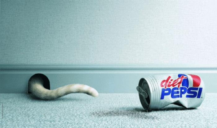 Diet Pepsi advertisement
