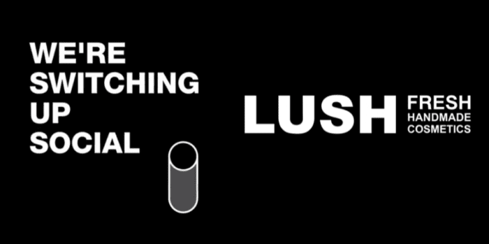 Lush switching up social