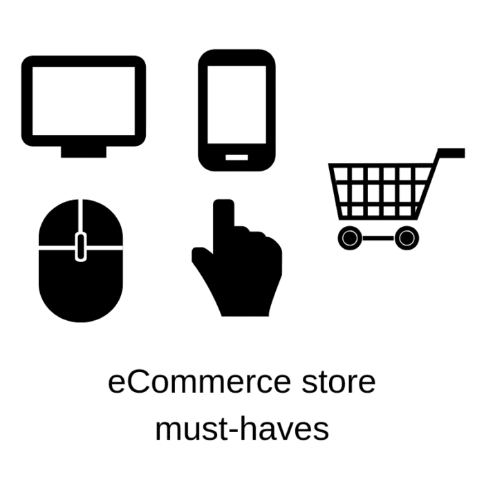 E-commerce stores must-haves