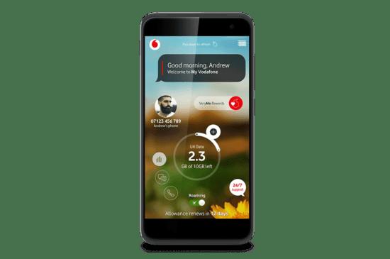 Vodaphone's Very Me