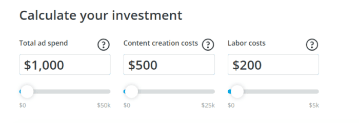 Calculate your investment