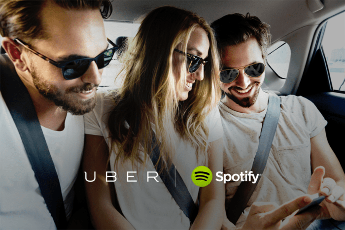 Uber and Spotify partnership
