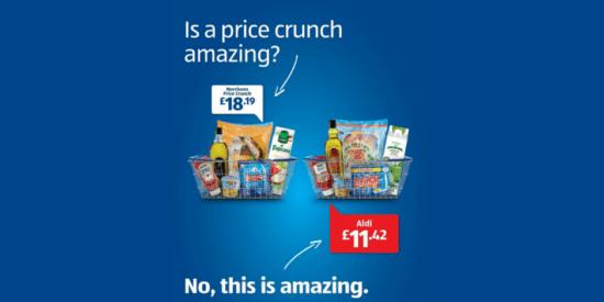 Aldi comparative advertisement against Morrisons