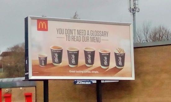 McCafe advert