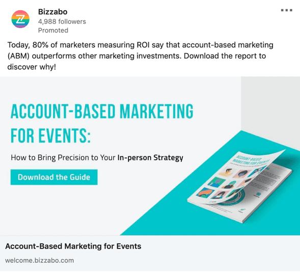Bizzabo paid ad