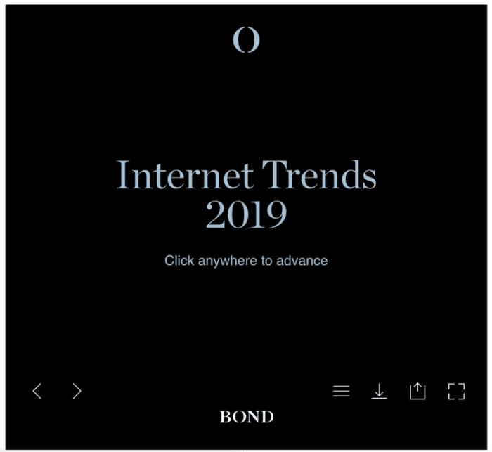 Bond Internet Trends 2019