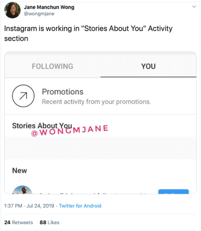 Stories About You Instagram