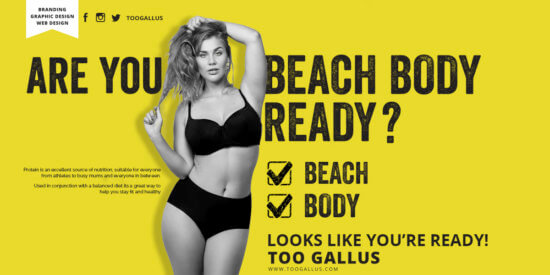 Are you beach body ready response campaign
