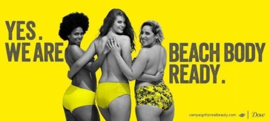 Yes we are beach body ready response campaign